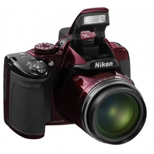 Nikon COOLPIX P520 - Rouge