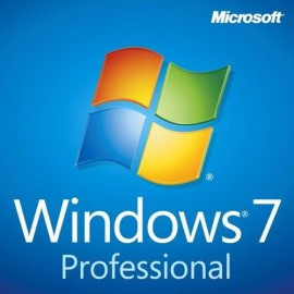 Microsoft Windows 7 Professionnel SP1 32 bits (Anglais) - Licence OEM (DVD)