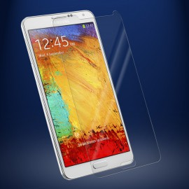 Protection écran Glass-Protector Silicone pour Samsung Note 3 (0.4 mm)