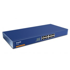 "Switch Non Administrable Tenda TEH1600M 16 ports 10/100 Mbps - 19"" rackable"
