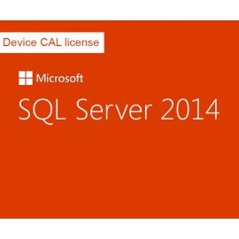 Device CAL licence pour SQL Server 2014 Standard Edition - Single Language, Open License Program NL