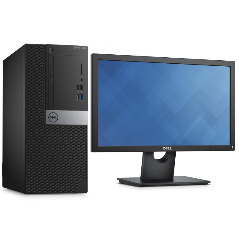 ordinateur de bureau dell optiplex 3040 3000 series mt ecran 19 maroc. Black Bedroom Furniture Sets. Home Design Ideas