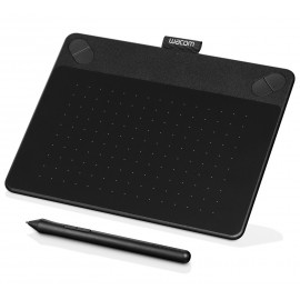 Tablette graphique créative tactile multi-touch et à stylet Wacom Intuos Photo Small Noir