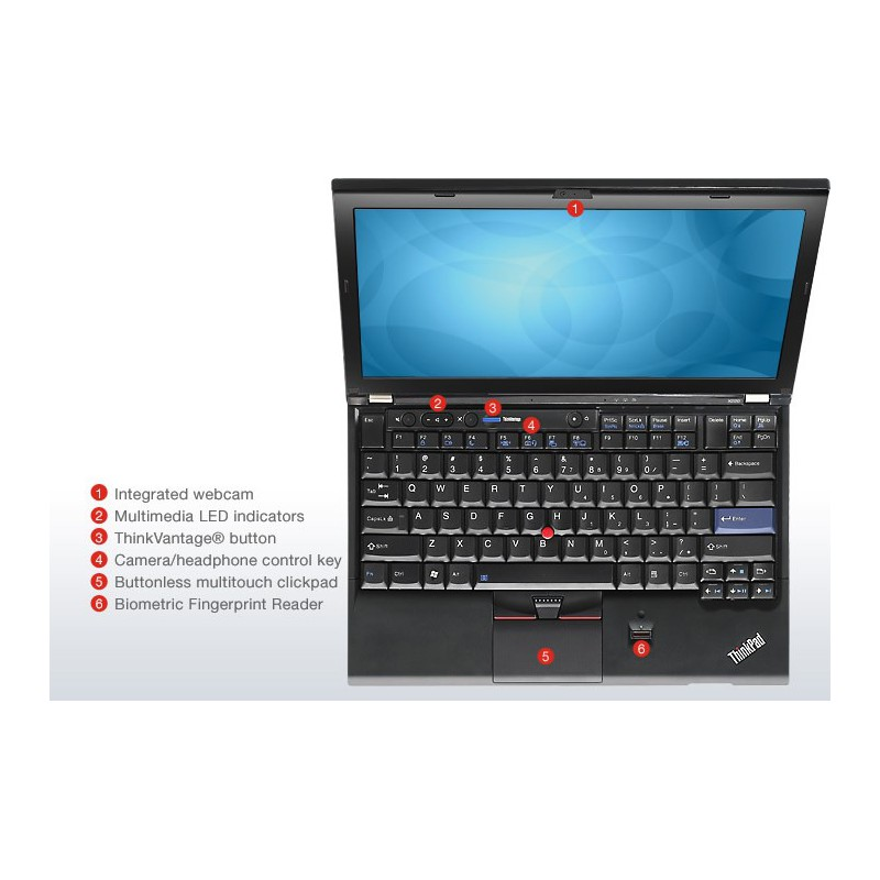 ordinateur ultra portable lenovo thinkpad x220i nyd4afe. Black Bedroom Furniture Sets. Home Design Ideas