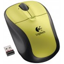 Souris Logitech sans fil M305 (Citron Yellow)
