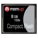 Carte CF Compact Flash 133X - Memup
