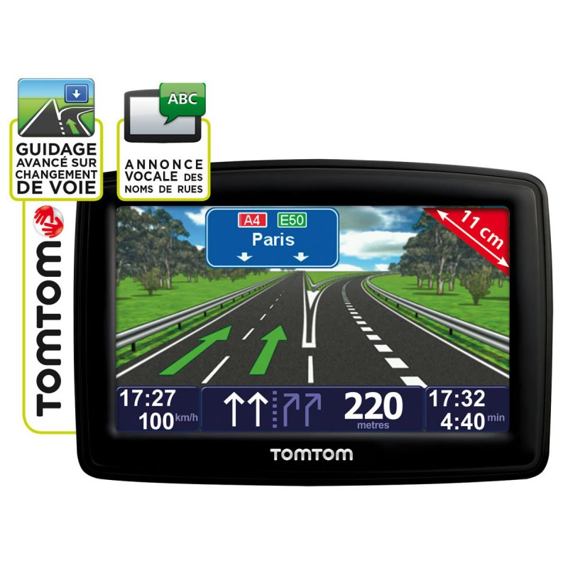 gps tomtom xl maroc et europe classic series 4 3. Black Bedroom Furniture Sets. Home Design Ideas