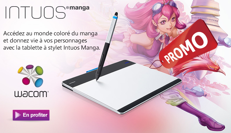 Tablette graphique Filaire Wacom Intuos Pen & Touch Creative Medium (CTH-680SS) - Maroc