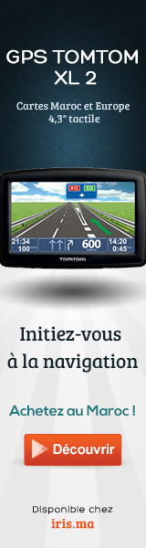 GPS TomTom XL 2 Maroc et Europe IQ Routes™ Edition - 4,3