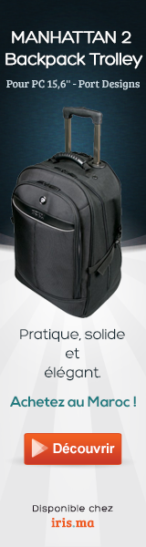 Sac à dos MANHATTAN 2 Backpack Trolley pour PC 15,6'' - Port Designs