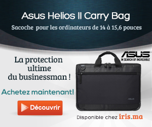 Sacoche top loading ASUS Helios II Notebook Case 14/ 15,6
