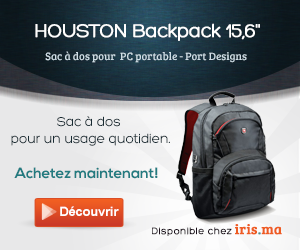 Sac à dos HOUSTON Backpack 15,6 - Port Designs