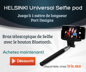 Port Designs Bluetooth HELSINKI Universal Selfie pod