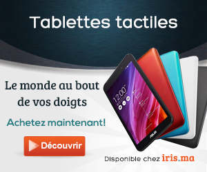 TABLETTE TACTILE, IPAD