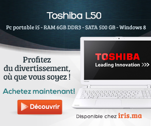Pc portable Toshiba SATELLITE L50