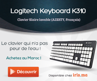 Logitech Washable Keyboard K310 - Clavier filaire lavable (AZERTY, Franç