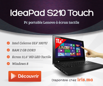 Ordinateur portable Tactile IdeaPad S210 Touch (59378411)