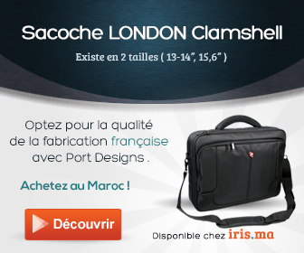 Sacoche LONDON Clamshell pour PC - Port Designs