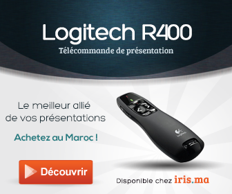 Logitech Wireless Presenter R400 - Télécommande de