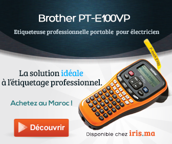 Etiqueteuse portable Brother PT-E100VP