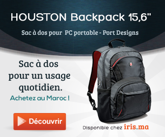 Sac à dos HOUSTON Backpack 15,6' - Port Designs