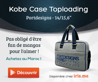 Sacoche KOBE Toploading 15,6' - Port Designs