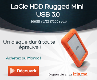 LaCie HDD Rugged Mini USB 3.0, Shock resistant, 500GB / 1 TB (7200 rpm)