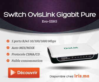OvisLink Switch Non-Administrable Gigabit Pure 5 ports (Evo-GSH5)