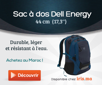 Sac à dos Dell Energy 44cm (17,3') Backpack (460-11801)