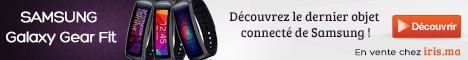 SAMSUNG Galaxy Gear Fit - Noir