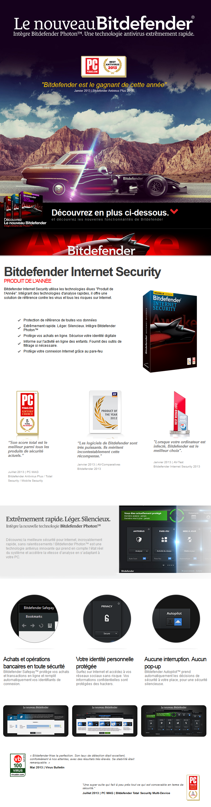 bitdefender internet security 2014 1an 1 poste oem cl dvd maroc. Black Bedroom Furniture Sets. Home Design Ideas