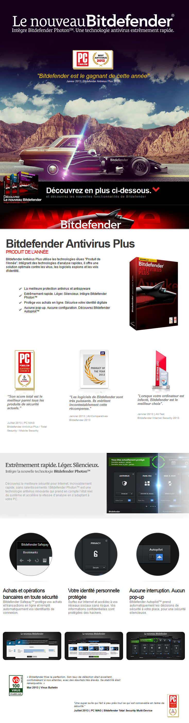 bitdefender antivirus plus 2014 1an 1 poste oem cl dvd maroc. Black Bedroom Furniture Sets. Home Design Ideas