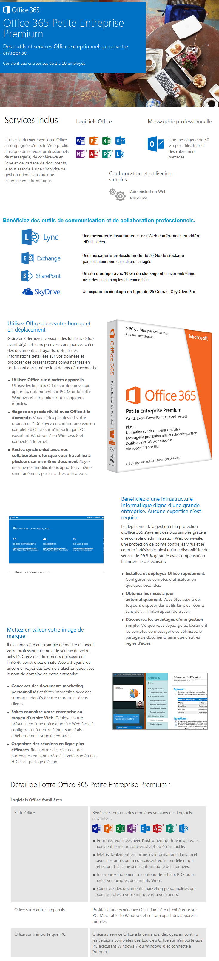 Microsoft office 365 small business premium - Cle activation office 365 famille premium ...
