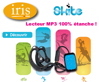 Lecteur MP3 tanche Memup Skite 4 GB