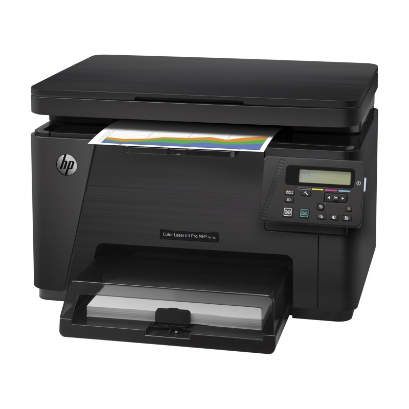 imprimante multifonction hp color laserjet pro mfp m176n cf547a maroc. Black Bedroom Furniture Sets. Home Design Ideas
