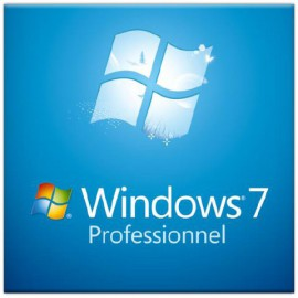 Microsoft Windows 7 Professionnel SP1 64 bits (français) - Licence OEM (DVD)