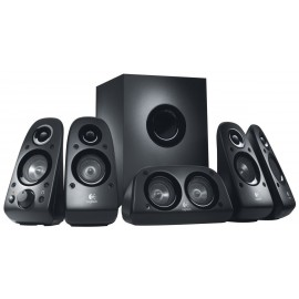 Logitech Speaker System Z506 - 5.1 compatible PS3 / Xbox 360 / Wii et iPod (980-000431)