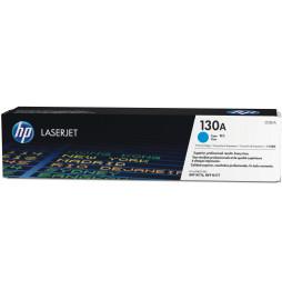 Cartouche de toner cyan d'origine HP LaserJet 130A (CF351A)