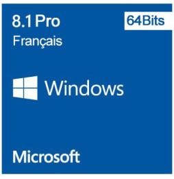 Microsoft Windows 8.1 Pro 64 bits (français) - Licence OEM (DVD)