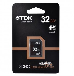 Carte mémoire TDK Class 10 SDHC 1 - 32 GB