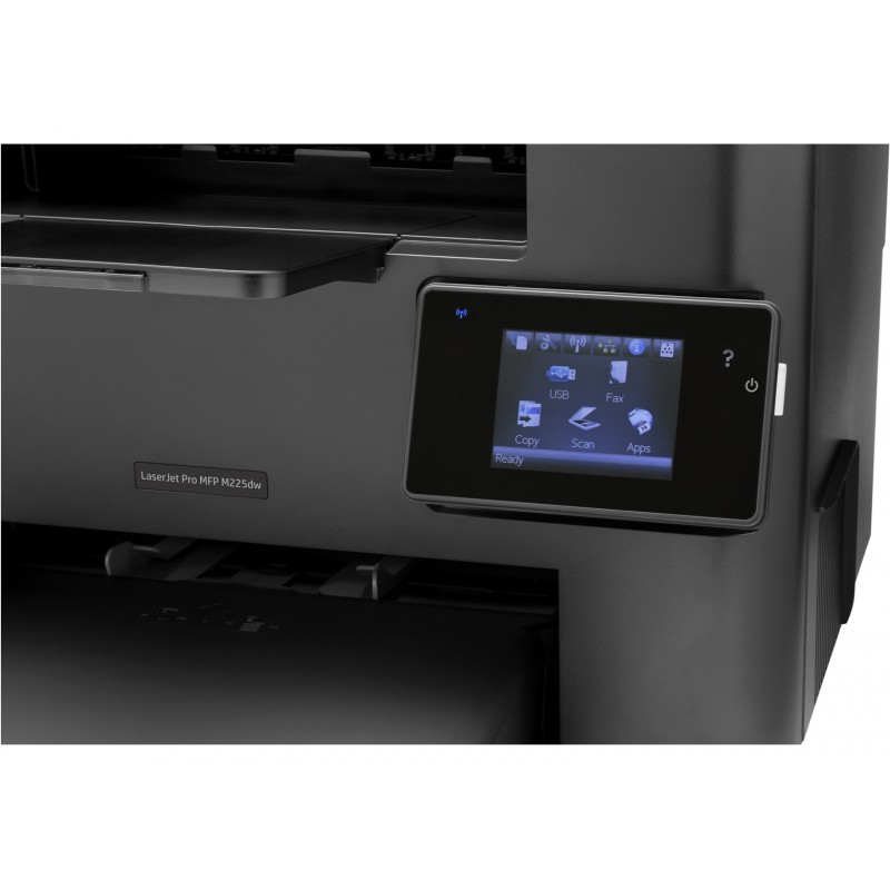 imprimante monochrome multifonction hp laserjet pro m225dw. Black Bedroom Furniture Sets. Home Design Ideas
