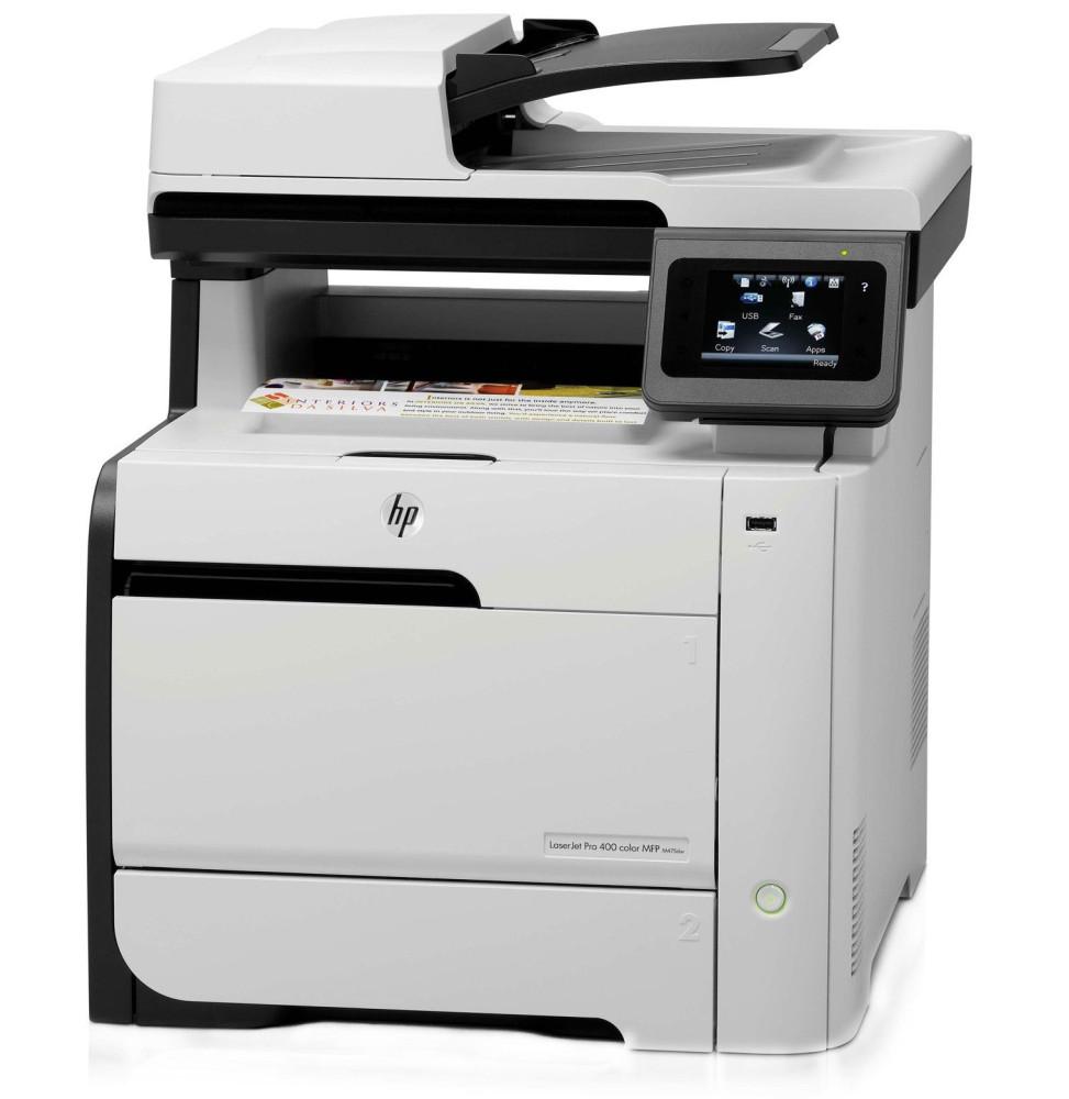 imprimante couleur hp laserjet pro 400 mfp m475dw ce864a. Black Bedroom Furniture Sets. Home Design Ideas