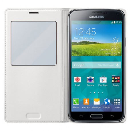 Etui View Cover pour Samsung Galaxy S5