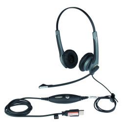 Micro-casque Jabra GN2000™ USB DUO Microsoft (20001-491)