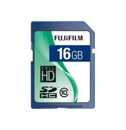 Carte SDHC 16GB FUJIFILM CLASS 10