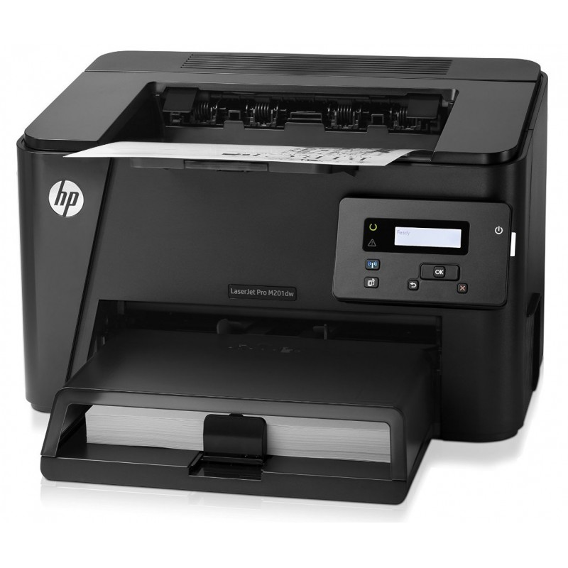 imprimante wi fi laser monochrome hp laserjet pro m201dw cf456a maroc. Black Bedroom Furniture Sets. Home Design Ideas