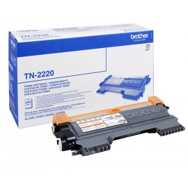 Brother TN-2220 Noir - Toner grande capacité Brother d'origine (TN2220)