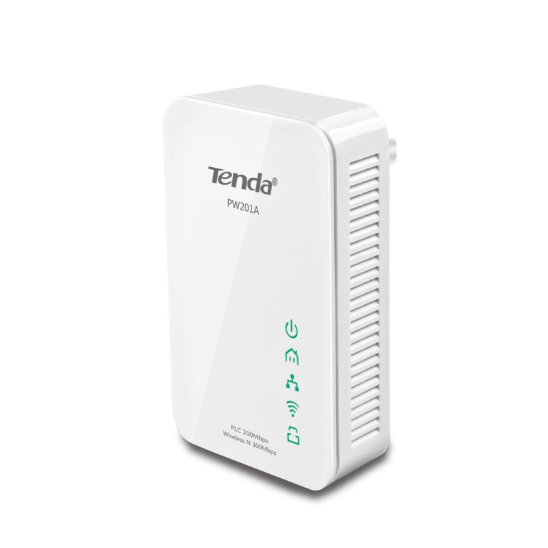 adaptateur wifi cpl tenda pw201a wireless n300 powerline. Black Bedroom Furniture Sets. Home Design Ideas