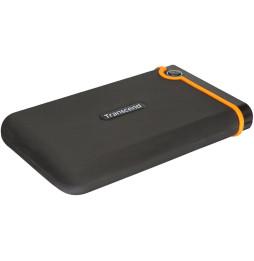 """Disque dur externe Anti-choc portable Transcend StoreJet 25M2 - SATA 2.5"""""""