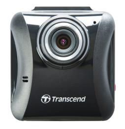 """Enregistreur vidéo pour véhicule Transcend DrivePro 100 Full HD LCD 2.4"""" - Support avec ventouse + Carte mémoire 16GB offerte"""